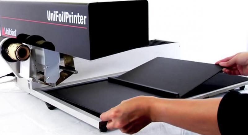 معرفی دستگاه طلاکوب دیجیتال UniFoilPrinter