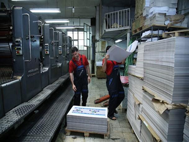 ۸۰ درصد چاپخانهها روزی ۶۴ دقیقه کار میکنند!