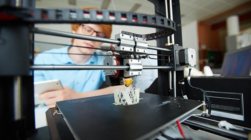 تولید مواد ارتجاعی با پرینتر چاپ 4 بعدی
