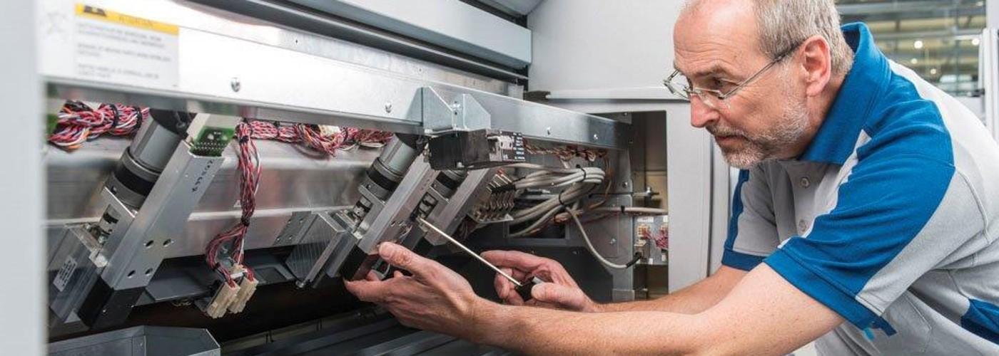 برنامه نگهداری ماهانه ماشین های چاپ