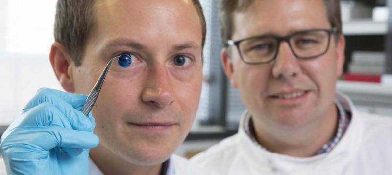 چاپ سه بعدی قرنیه انسان برای اولین بار