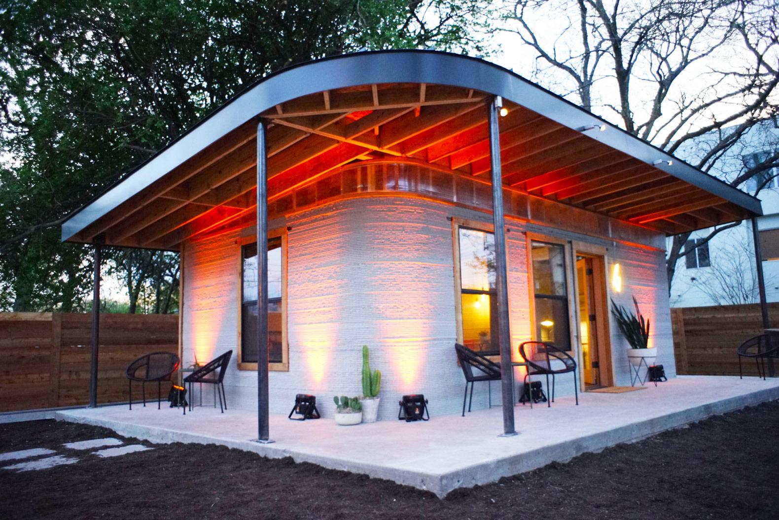 در کمتر از 3 روز یک خانه کامل بسازید!